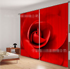 3D Large Rose 0354 Blockout Photo Curtain Print Curtains Drapes Fabric Window UK