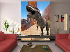 3D Fangs Dinosaurs 100 WallPaper Murals Wall Print Decal Wall Deco AJ WALLPAPER