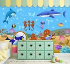 3D Funny Seabed 596 WallPaper Murals Wall Print Decal Wall Deco AJ WALLPAPER