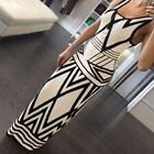Women Summer Boho Casual Cocktail Long Maxi Evening Party Beach Dress Sleeveless