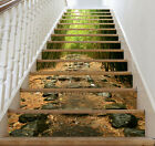 3D green forest bamboo Risers Decoration Photo Mural Vinyl Decal Wallpaper US