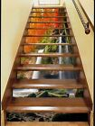 3D Falling Flows 3 Stairs Risers Decoration Photo Mural Vinyl Decal Wallpaper US
