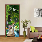 3D Forest 513 Door Wall Mural Photo Wall Sticker Decal Wall AJ WALLPAPER AU