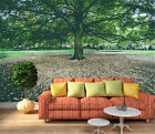 3D Huge green tree Wall Paper Wall Print Decal Wall Deco Indoor wall Murals