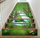 3D Pretty Forest 61 Stair Risers Decoration Photo Mural Vinyl Decal Wallpaper UK