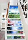 3D River Falls 272 Stair Risers Decoration Photo Mural Vinyl Decal Wallpaper UK