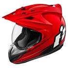 ICON Variant Double Stack Motorcycle Helmet Red