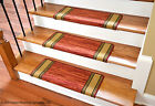 Dean Bullnose Non-skid DIY Carpet Stair Treads - Boxer Terra Cotta