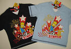 The Simpsons T-Shirt Striker  neu!!