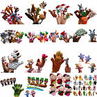 Family Finger Puppets Cloth Doll Baby Educational Hand Cartoon Animal Toy GUT
