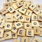 SCRABBLE Tiles Letters Vintage Individual Replacements for crafts wooden used