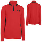 Under Armour Junior Half Zip Fleece Top - UA Golf Kids Boys Sweater Pullover