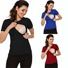 Maternity Clothes Breastfeeding Tops T-shirt Nursing Tops For Pregnant Women