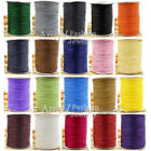 0.5,0.8,1,2,3,4MM Korea Polyester Waxed Cord Jewellery Making Bead Sewing Wire