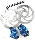 BENGAL MB700S Bike Mechanical Disc Brake Set F&R w/160mm Rotors ,4 Colors