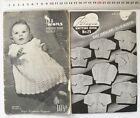 VINTAGE BABY Knitting Books CARDIGANS & OUTFITS 2, 3 & 4 Ply Choice 3 Styles B20