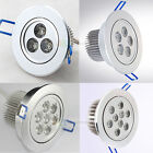 3W 5W 7W 9W Celling Down Light High Power LED Recessed Ceiling Down Bulb Lamp