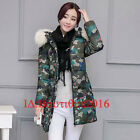 New Winter Women Fur Hooded High Quality Coat Down Cotton Jacket Multicolor Coat