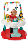 New Easy Clean 2-in-1 Baby to Toddler Walker & Bouncer Rocker + Activity Center