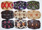 """Double Magic Hair Combs, Angel Wings Clips 4x3.5"""", African Butterfly,Quality S39"""