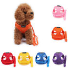 Cute Pet Dog Harness Vest No-Pull Breathable Leash Comfortable Chest Belt