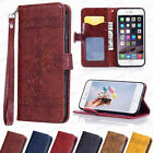 Magnetic Leather Flip Case Wallet Cover Card Holder For iPhone Galaxy Huawei HTC