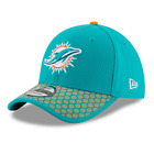 NEW ERA 39THIRTY NFL SIDELINE 2017 MIAMI DOLPHINS