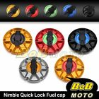 For Triumph Speed Triple 955i All Years NIMBLE 1/4 Quick Lock Gas Fuel Cap $62.8 USD