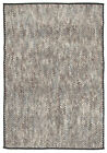 NEW Jenkins Smoke & Grey Hand Loomed Polyester Rug Network Rugs