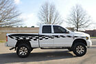 Checkered Flag Race Pick Up Vinyl Decal Graphic Vehicle Truck Car SUV Dodge Ram