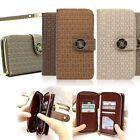 Twinkle Clutch Zip-UP Smart Wallet Case Cover Strap For Galaxy S9/ iPhone X 8/LG