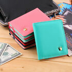 Luxury Flip Synthetic Leather ID Credit Card Wallet Holder Organizer Purse LN