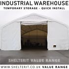 Industrial Steel Frame Shelter -Temporary Portable Building Commercial Warehouse