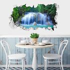 3D Waterfall 011 Wall Murals Wall Stickers Decal Breakthrough AJ WALLPAPER AU