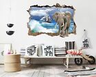 3D Sea Elephant 056 Wall Murals Wall Stickers Decal Breakthrough AJ WALLPAPER AU