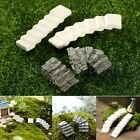 Mini Resin Bridge Stair Step DIY Garden Ornament Plant Pot Fairy Garden Decor