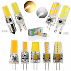 CA 3W 4W 6W 8W G9 G4 E14 Silicone Crystal SMD/COB LED Bulbs SpotLight White Lamp