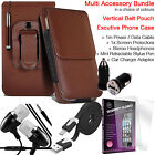 Quality Vertical Belt Pouch Phone Protection Case Cover✔Accessory Pack✔Brown günstig