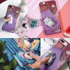 SOFT SILICONE 3D SQUISHY KITTY CAT BEAR CUTE CASE FOR IPHONE 7/7 PLUS #CC188