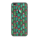 Cute Cactus Cartoon Patterned Thin Clear Phone Case For iPhone Samsung LG F02651