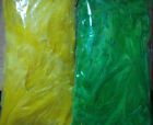Large Fluorescent Neck Hackle, Medium Bags (approximately 15 grams), 2 Colors