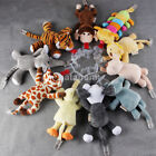 Fun Baby Boy Girl Pacifier Clip Chain Plush Animal Toy Soother Nipple Holder US