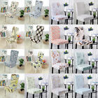 Chair Cover Dining Room Wedding Banquet  Removable Easy Fit Polyester Seat Cover