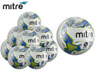 BRAND NEW 10 x MITRE 2017-18 - ELEMENT HYPERSEAM MATCH BALL - WHITE/BLUE/LIME