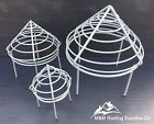 PLASTIC COATED CHIMNEY WIRE BALLOON BIRD / FLUE / DRAINPIPE GUARD-VARIOUS SIZES