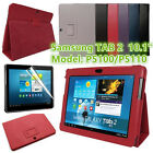 Slim PU Leather Flip Stand Case Cover For Samsung Galaxy Tab 2 10.1 P5100 P5110
