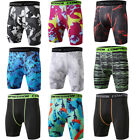Men's Sports Compression Shorts Workout Athletic Running Jogger Boxers Dri-Fit