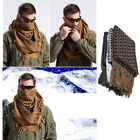 Military Men Utility Airsoft Tactical Gear Desert Shemagh Keffiyeh Arab Scarf US