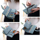 PU Leather Clutch Coin Phone Bag Women Lady Key Case Wallet Card Holder Purse