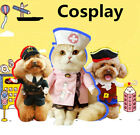 Fancy Pet Small Large Dog Halloween Costumes Riding Cowboy Knight Coat Clothes